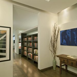 Lovely Interior With Exposed Wood Flooring And Beige Wall Also Decorative Wood Ceiling Lighting