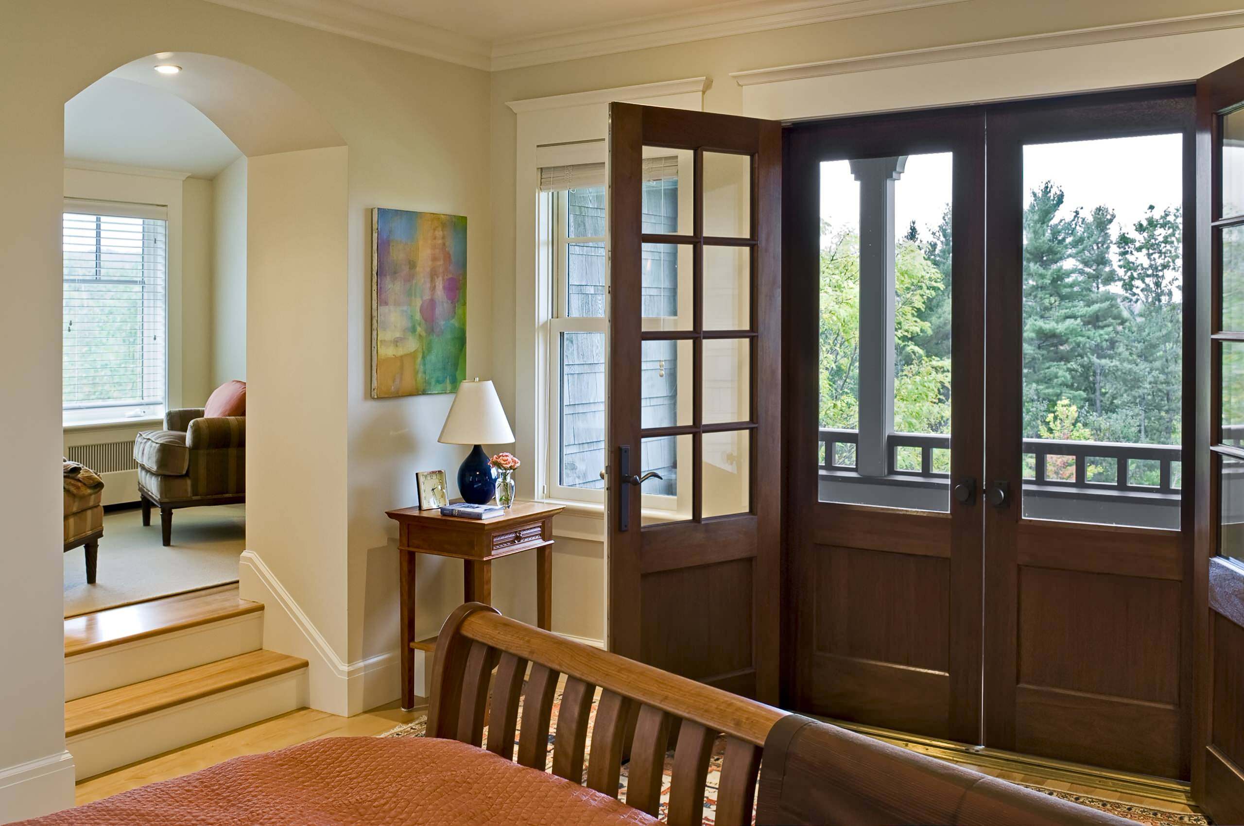 Decorating inspiring screen doors for your home hqwalls arched doorway also crown molding plus french doors in master bedroom with neutral colors and screen vtopaller Choice Image