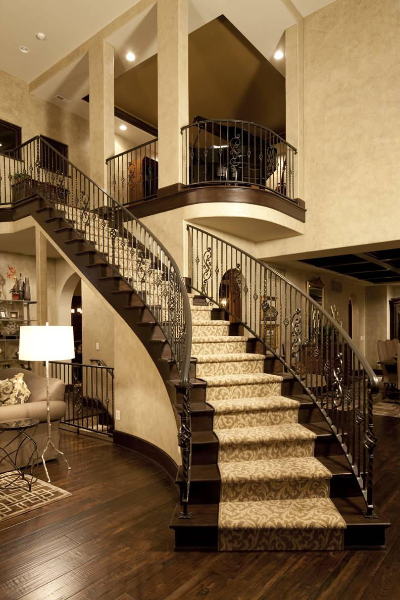 Decorating carpet runner for traditional staircase in entrance all images baanklon Choice Image