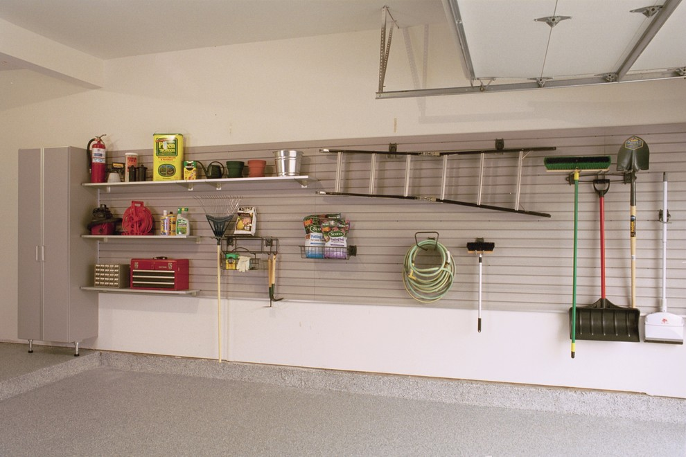 Closet Design And Closet Organization In Garage With Reach In Closets Plus  Walk In Closets Also Hanging Tools And Garden Tools With Hanging Ladder  Plus ...