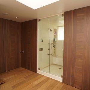 Contemporary Doors With Custom Doors Also Shower Glass Door Plus Lancko Doors And Lancko Walls Also Modern Interior Doors In Contemporary Bathroom With Walk In Shower Ideas