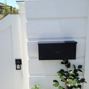 Contemporary Exterior For Modern House With 360 Yardware And Architectural Door Handles Plus Modern Mailboxes With Exterior Gate Hardware Plus Plants And Wall Mount Mailbox