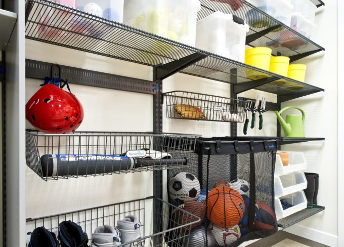 Garage Cabinets And Garage Storage With Organization Systems Plus Shelves And Shelving System In Storage For Garage With Storage Solutions For Ball Storage Also Shoes Rack And Hanging Tools