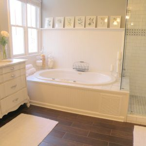 Master Bath Remodeling For Eclectic Bathroom Plus Tub Shower Tiles And Showers Enclosures Also Walk In Shower Ideas With Ceramic Tile That Looks Like Wood Plus White Rug