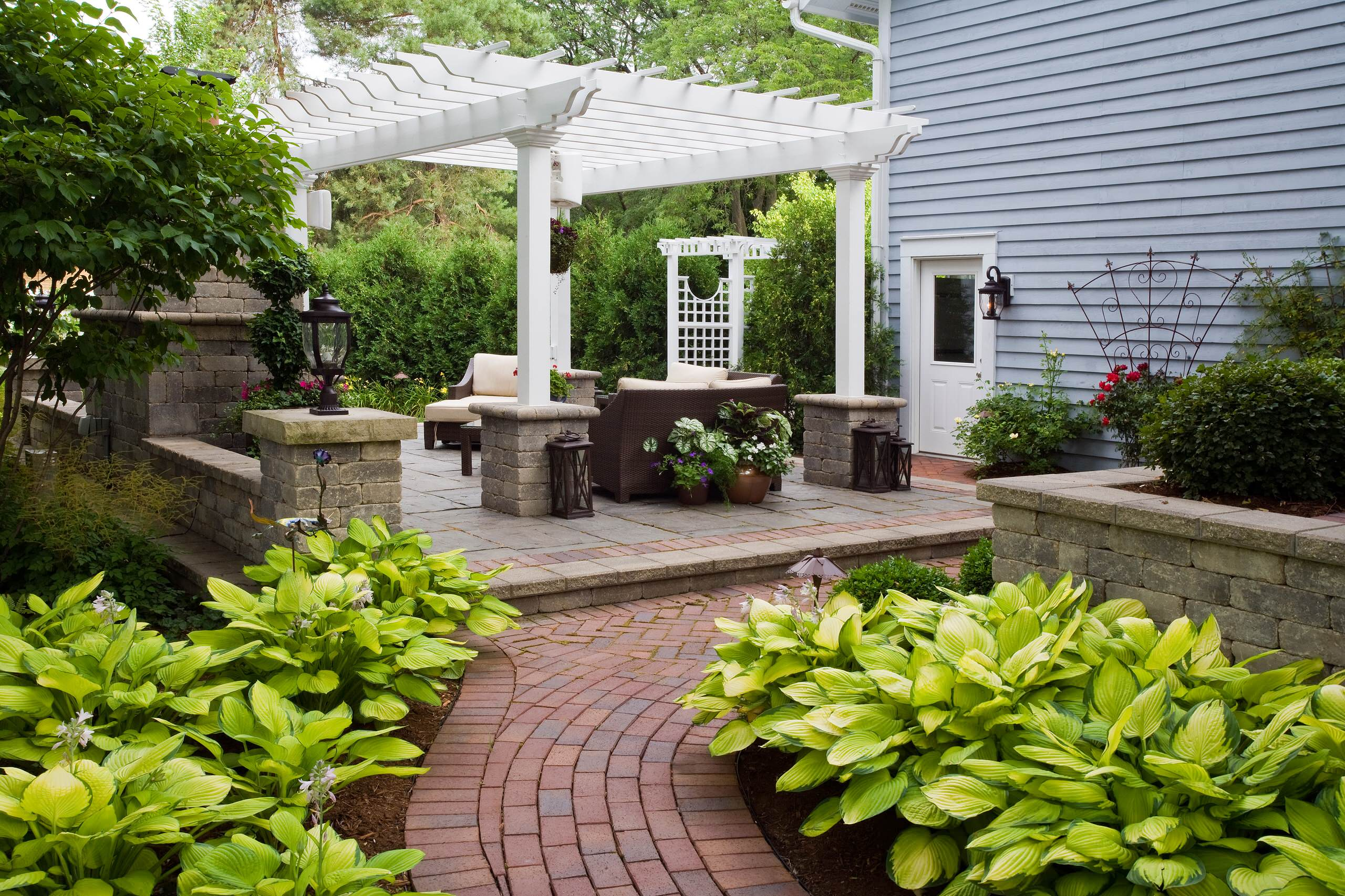 Grant & Power Landscaping, Wheaton Residence