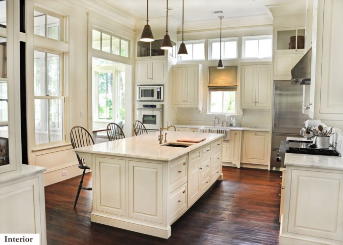Windows Transom For Period Kitchen With Cabin Living Rooms Plus Cabinet Kitchens With Traditional Kitchen Design Also Tongue And Groove Ceiling Ideas With Hardwood Flooring